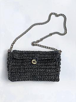 Bolsa de Crochet - Mini Praga